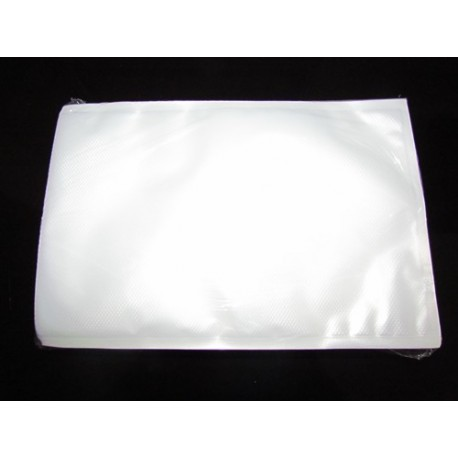 25x30 Pack 100 bolsas Gofradas